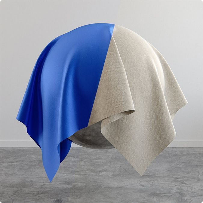 Como crear materiales de tela en Vray
