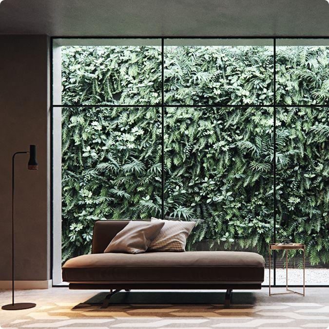 Corona Scatter: Creación de un muro verde