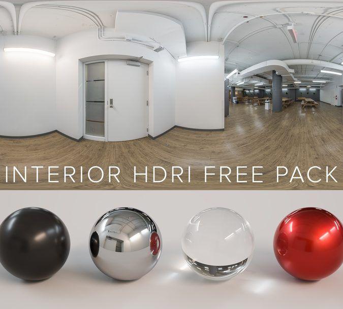 Pack Gratuito 6 Entornos HDR Interiores