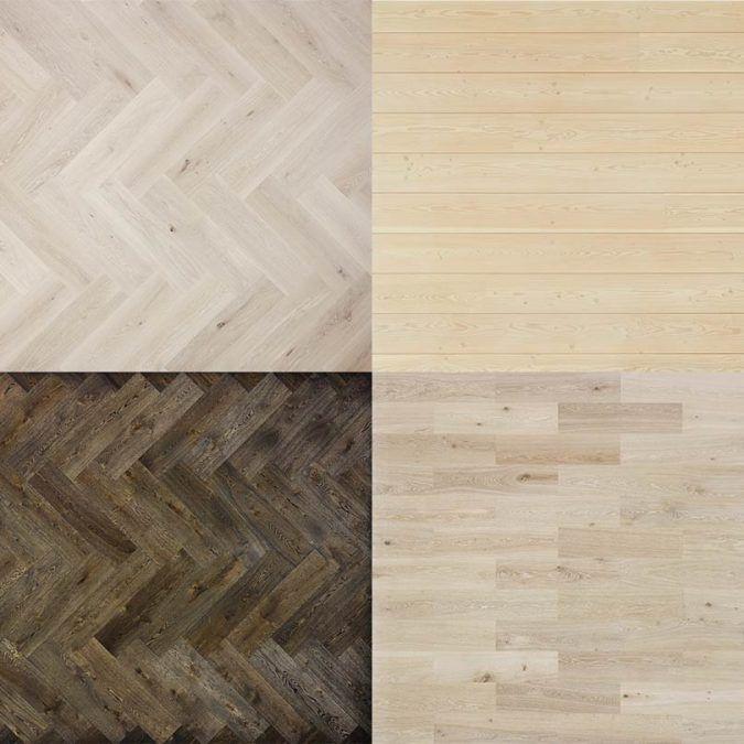 Pack gratuito de texturas de madera por Dinesen.com