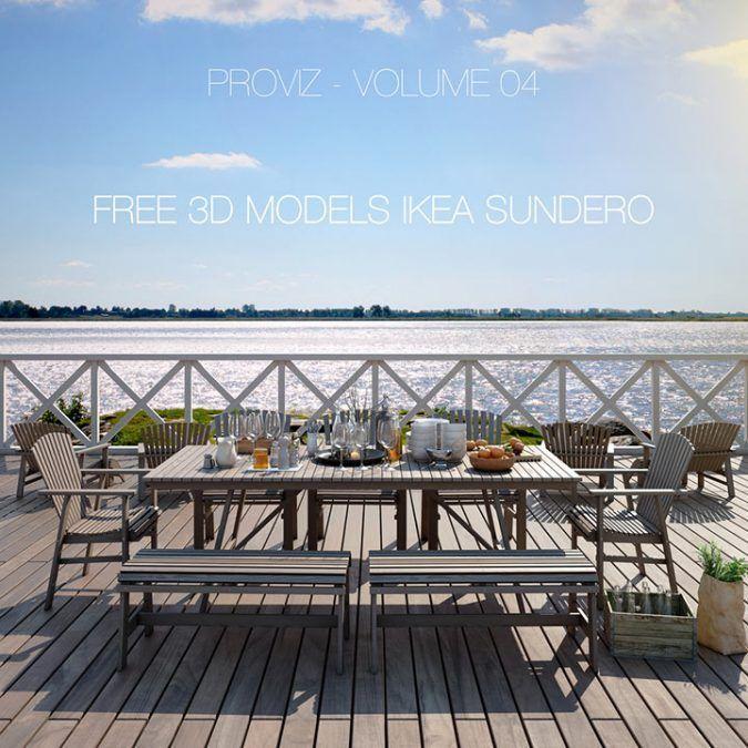 Colección de muebles de exterior IKEA por Proviz studio