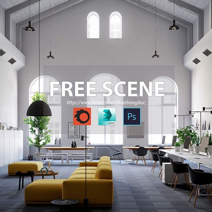 Escenas gratuitas por Region Studio