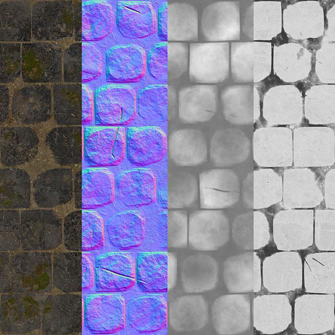 Quixel Mixer Parte02 – Desplazamientos procedurales
